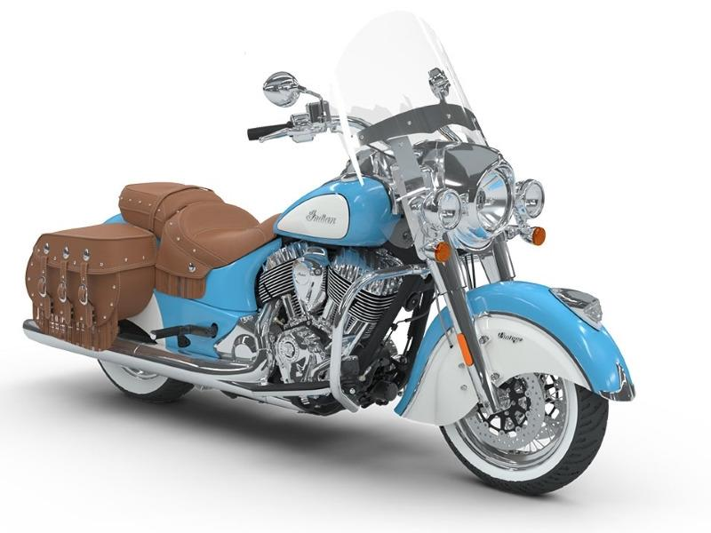 2018 Indian Motorcycle® Chief® Vintage ABS Sky Blue over