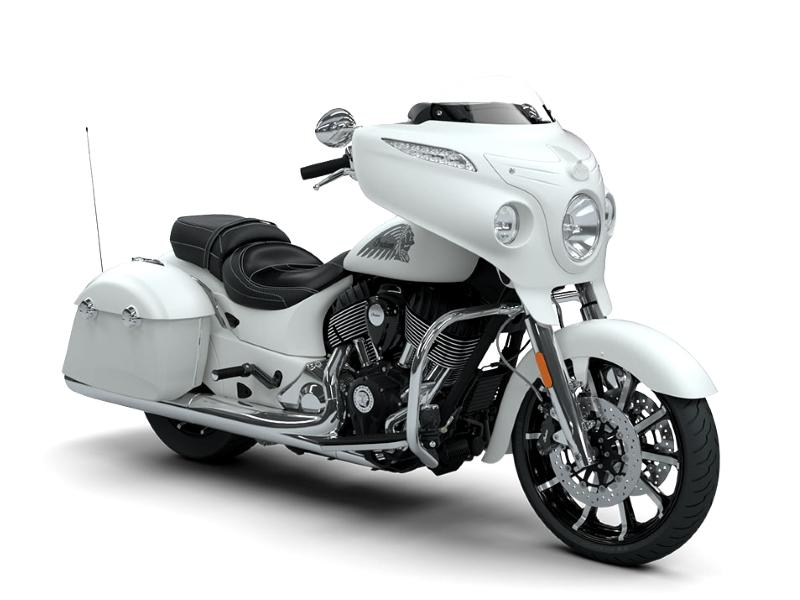 2018 Indian Motorcycle® Chieftain® Limited ABS White Smoke