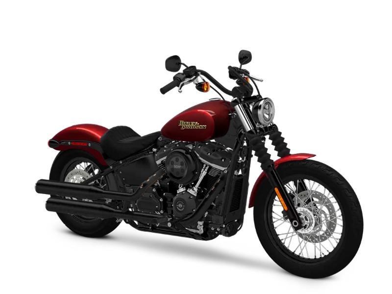 2018 Harley-Davidson® FXBB - Softail® Street Bob® Stock: 028021