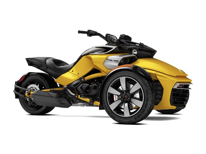 2018 Can-Am® Spyder® F3-S 6-speed manual with reverse (SM6 ...