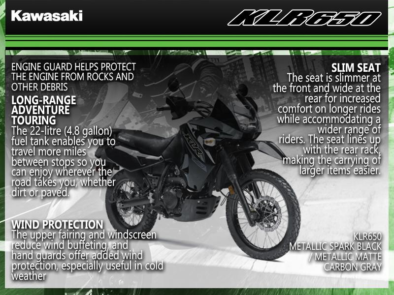 2018 Kawasaki KLR650 Camo | Snow City Cycle Marine | Toronto Ontario