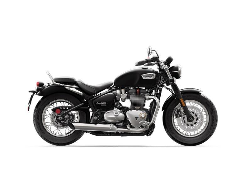 2018 Triumph Bonneville Speedmaster Jet Black Munroe Motors