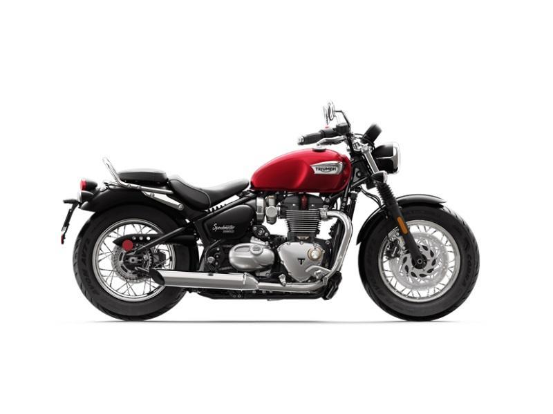 2018 Triumph Bonneville Speedmaster Cranberry Red 2 Mcc