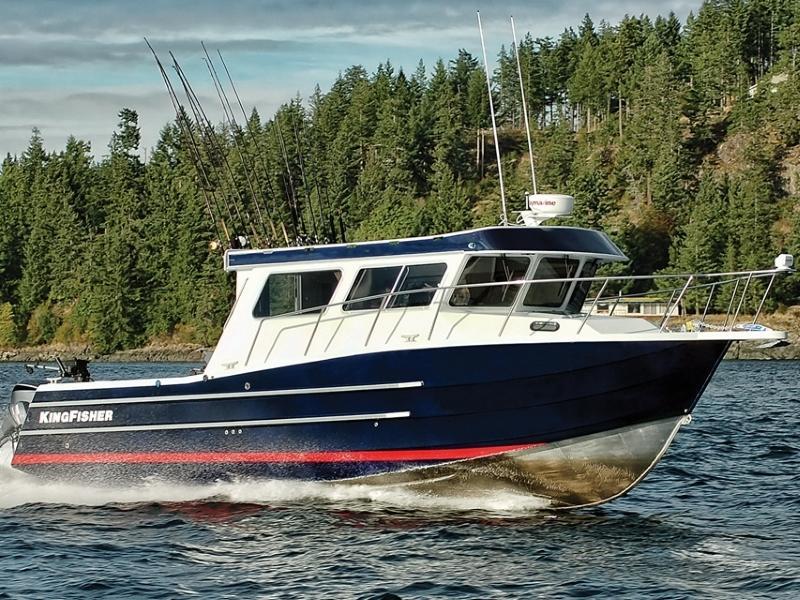 Kingfisher boats for sale near seattle wa fishing boat for Fishing boats seattle