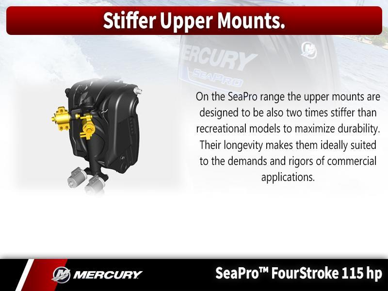 2018 Mercury Marine® SeaPro™ FourStroke 115 HP   Metro
