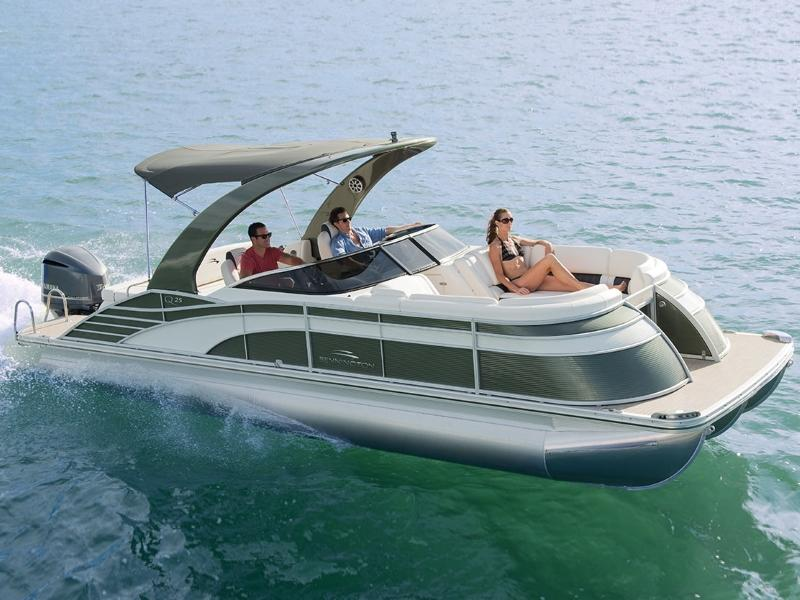 Tritoon For Sale >> Bennington Boats For Sale Dubuque Ia Boat Dealer