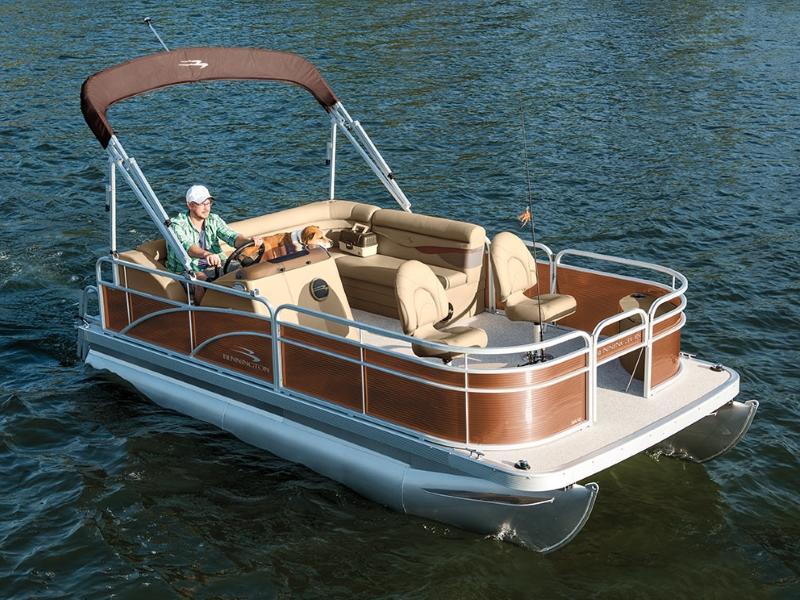 Compact Pontoon Boats For Sale Akron Oh Pontoon Dealer