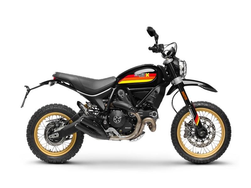 2018 Ducati Scrambler Desert Sled Black Gold Coast Motorsports