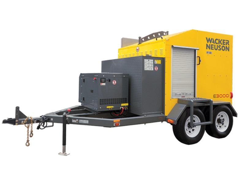 2018 Wacker Neuson E3000 W 6kw Gen 435064 Star