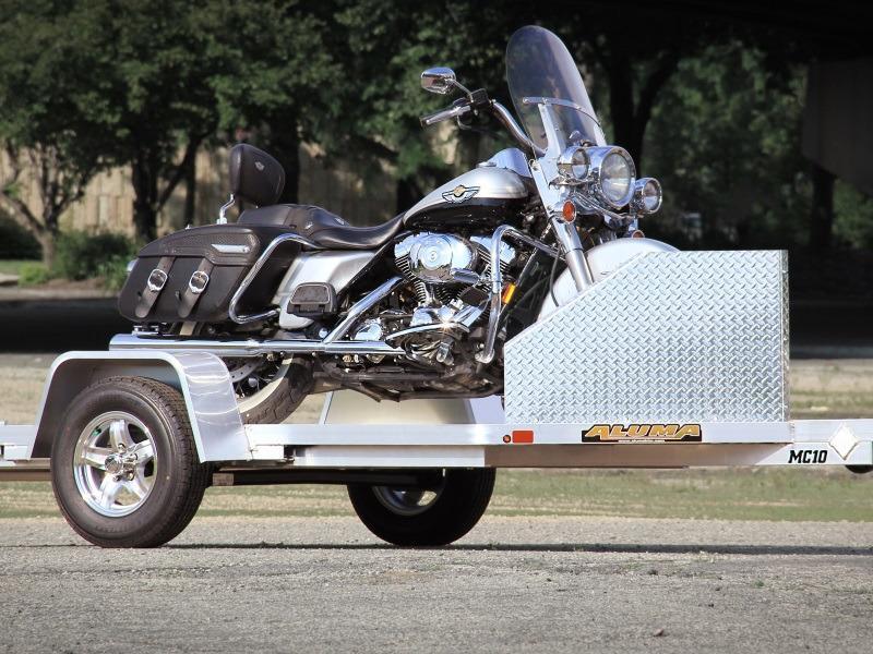 Aluma Motorcycle Trailers For Sale Waco Tx Aluma Dealer