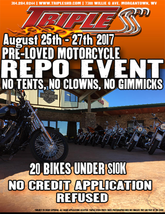 Event Calendar For Triple S Harley Davidson Dealership