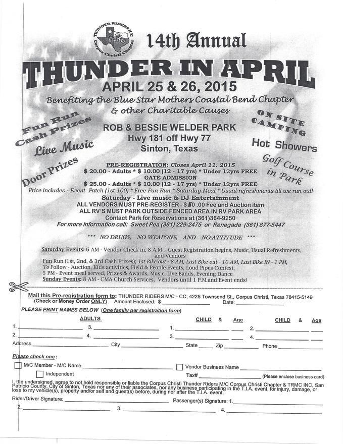 Calendar events corpus christi cycle plaza texas thunder in april colourmoves