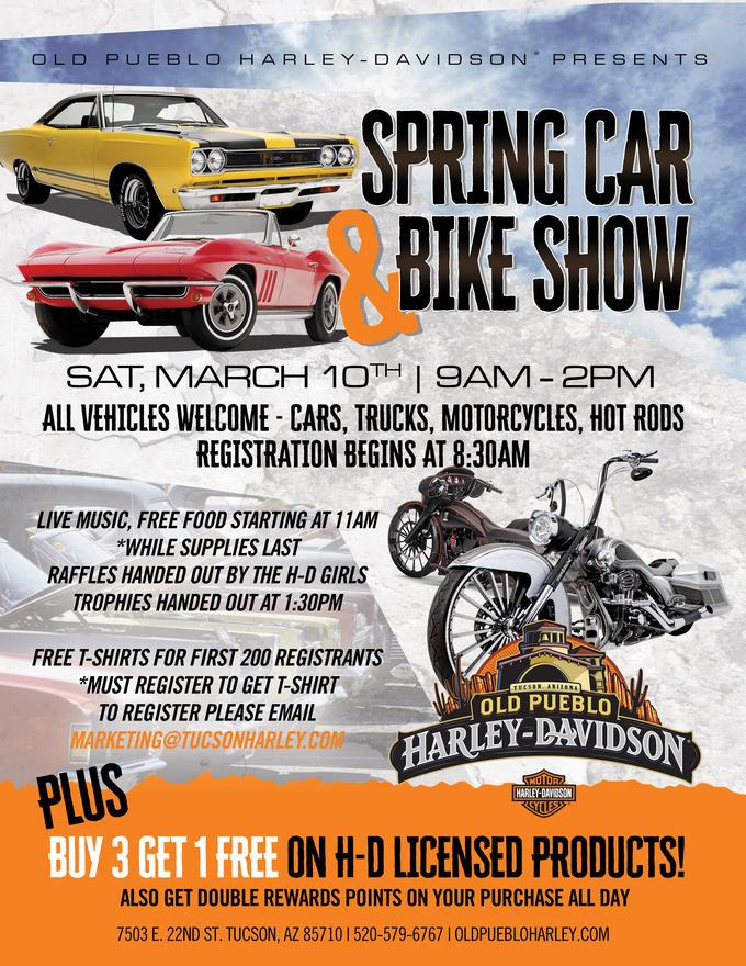 Calendar Events Old Pueblo HarleyDavidson Tucson Arizona - Pueblo car show