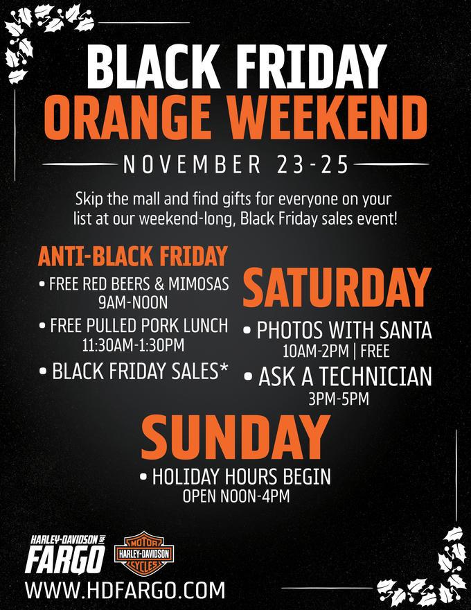 Event Calendar Harley Davidson Of Fargo West Fargo North Dakota