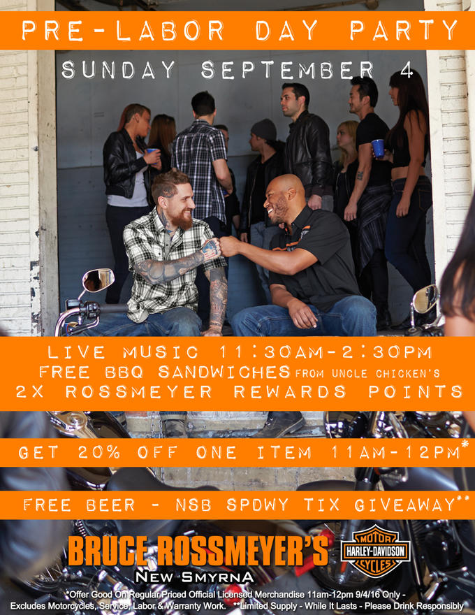 Event Calendar   Bruce Rossmeyer's Harley-Davidson®   Ormond Beach