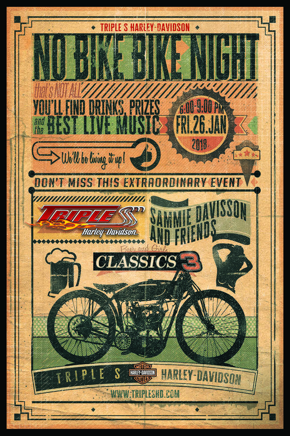 Event Calendar For Triple S Harley-Davidson® Dealership