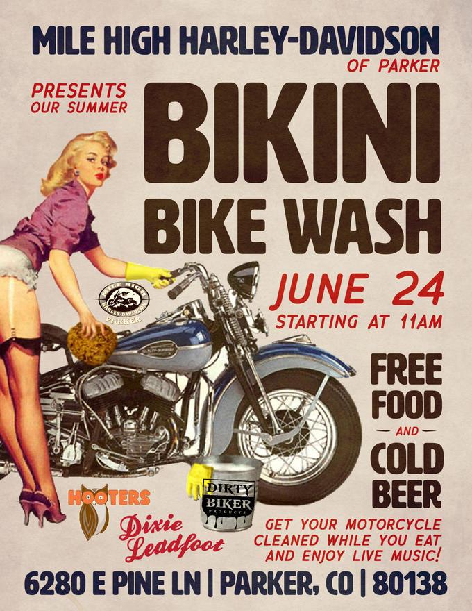 Bikini bike wash colorado