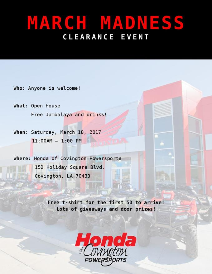 Honda Of Covington Powersports