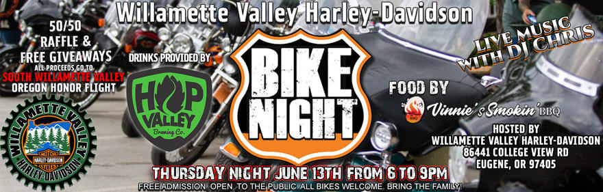 Event Calendar | Eugene, OR | Willamette Valley Harley-Davidson®