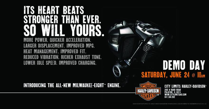 Calendar Events | City Limits Harley-Davidson® | Palatine Illinois