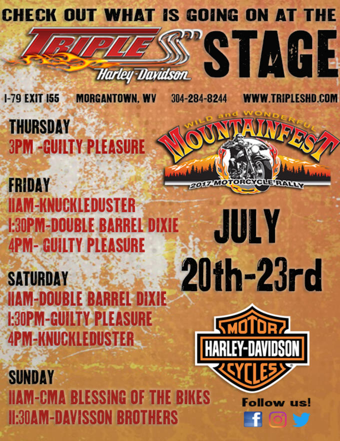 Triple S Harley Davidson Mountainfest