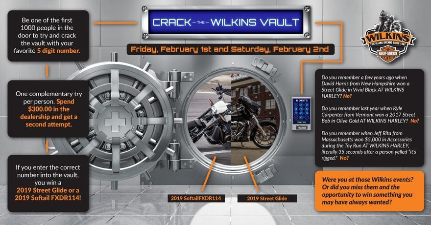 Wilkins Harley-Davidson Events | Wilkins Harley-Davidson® | Barre