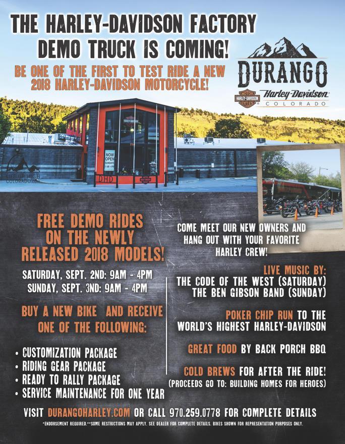 Event Calendar | Durango Harley-Davidson® | Durango, CO | Motorcycle