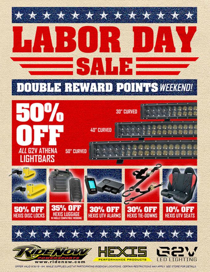 Discount Tire Labor Day Sale >> Event Calendar Ridenow Concord North Carolina
