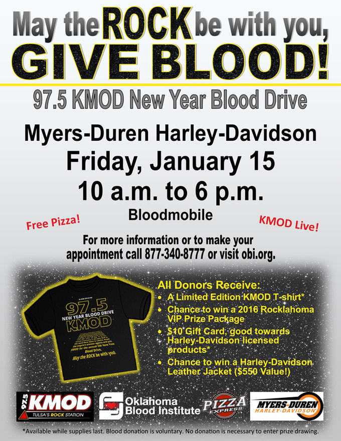 available while supplies last blood donation is voluntary no donation is necessary to enter prize drawing