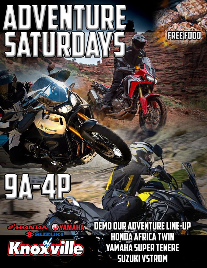 Join HYSK For The Demo Days EVERY Saturday For Free Food And The Chance To  Demo All Your Favorite Motorcycles From Honda, Yamaha And Suzuki.