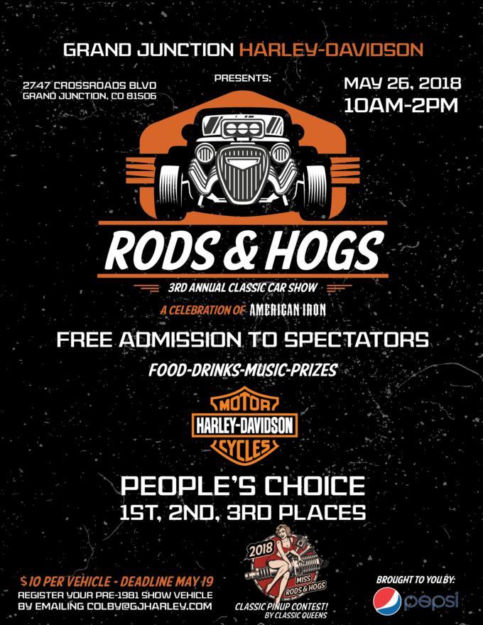 Event Calendar Grand Junction HarleyDavidson Colorado - Colorado car show calendar