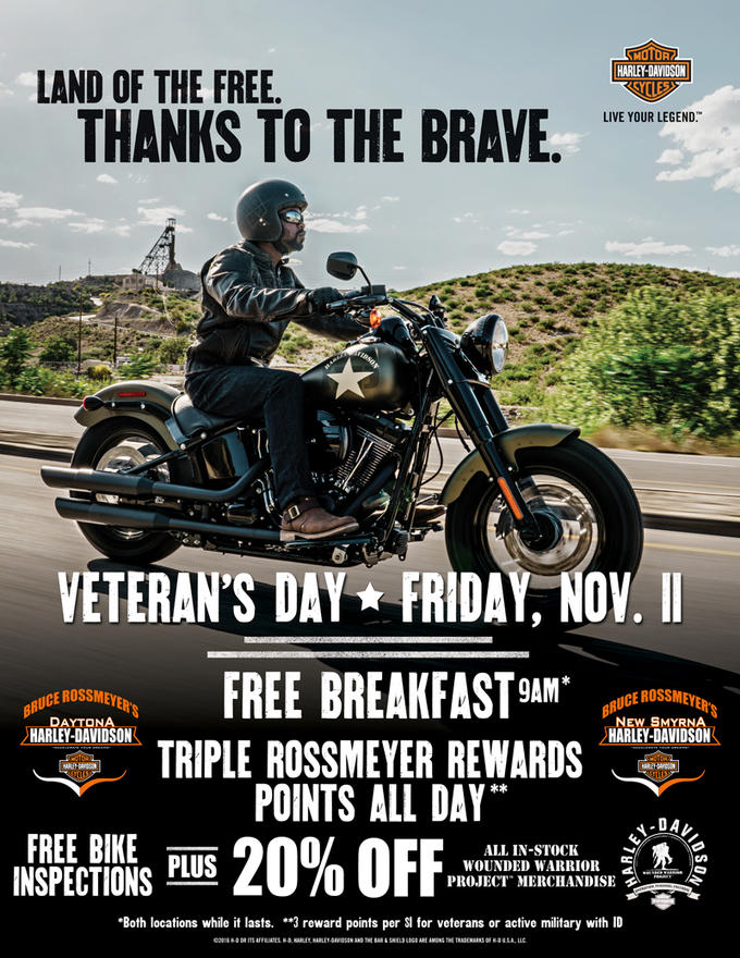 Event Calendar Bruce Rossmeyer S Harley Davidson Ormond Beach