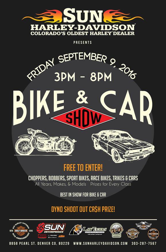 Calendar Events Sun HarleyDavidson Denver Colorado - Colorado car show calendar
