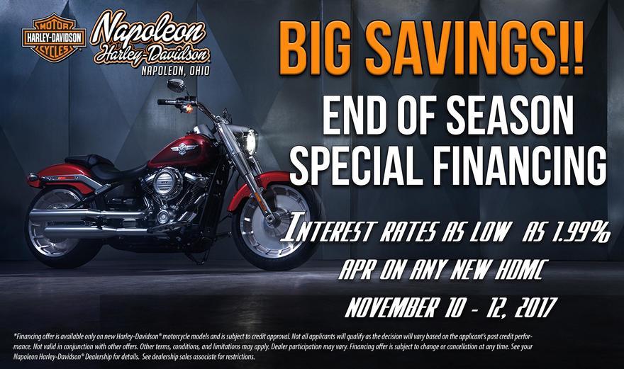 Calendar Events | Napoleon Harley-Davidson® Ohio