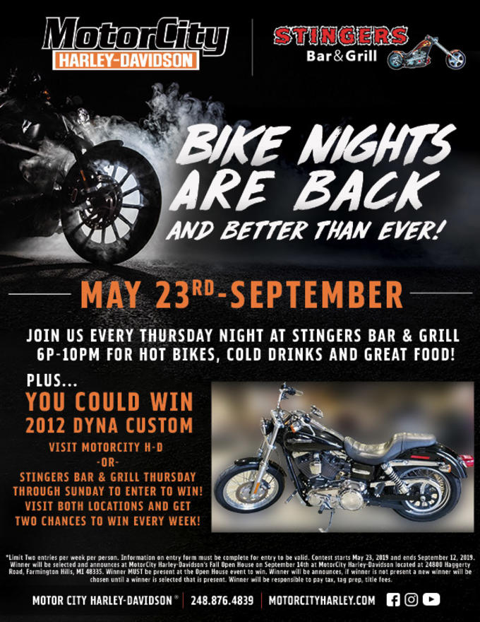 Calendar Events | Motor City Harley-Davidson® | Farmington Hills