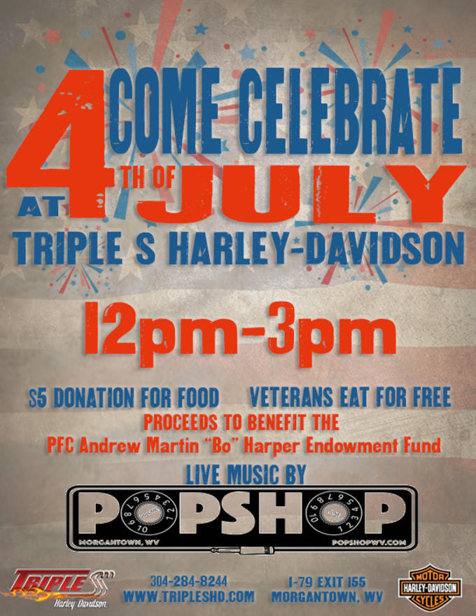 Calendar Events | Triple S Harley-Davidson® | Morgantown