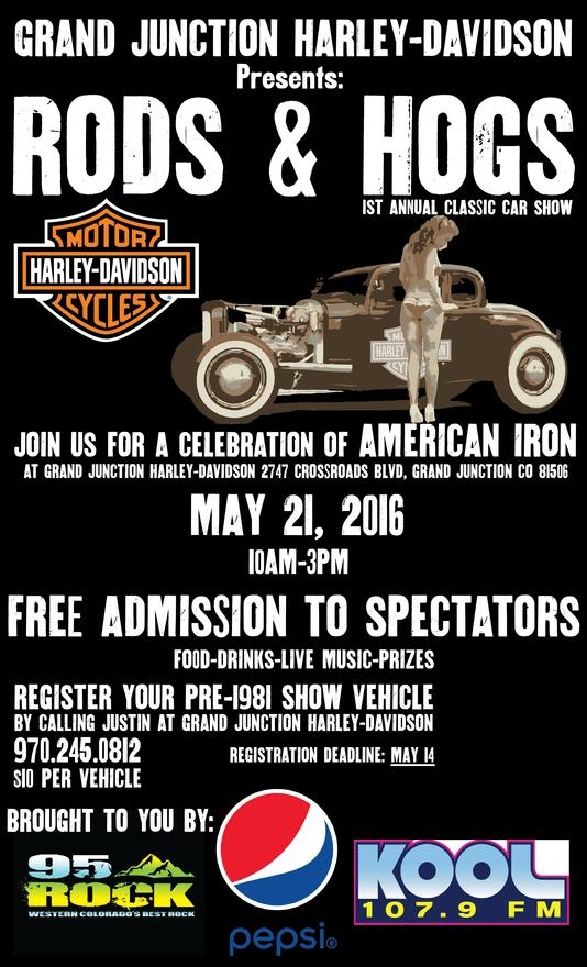 Event Calendar Grand Junction HarleyDavidson Colorado - Car show event calendar