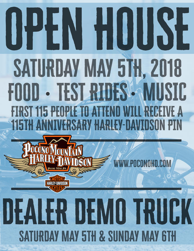 Pocono Harley Davidson >> Calendar Events Pocono Mountain Harley Davidson