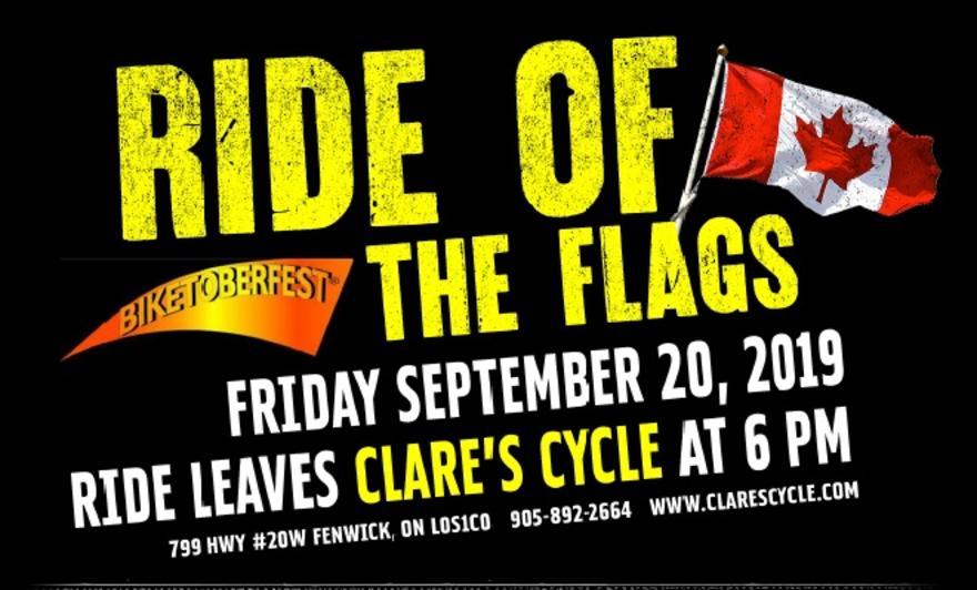 Event Calendar | Clare's Cycle | Fenwick Ontario