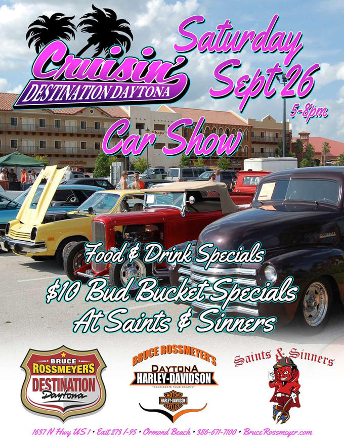 Event Calendar Bruce Rossmeyers HarleyDavidson Ormond Beach - Car show event calendar