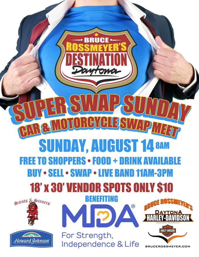 Calendar Events | Bruce Rossmeyer's Harley-Davidson® | Ormond Beach