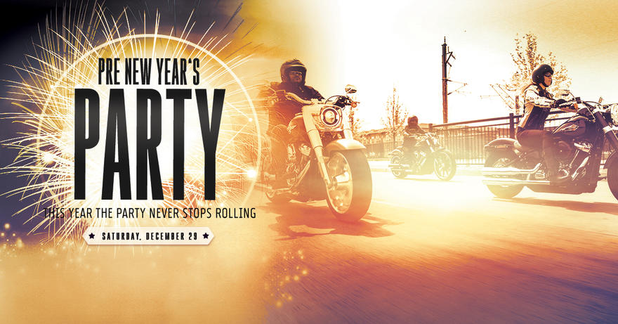 join jl harley davidson for our pre new years eve celebration and party we will be celebrating the new year with free lunch a free happy hour
