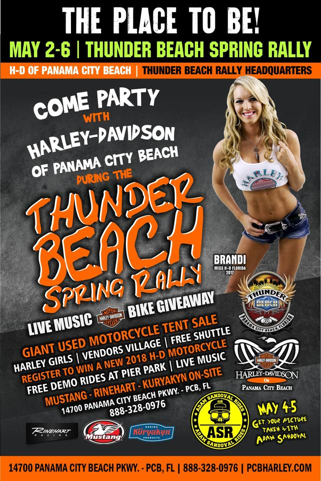 Event Calendar Harley Davidson Of Panama City Beach Florida