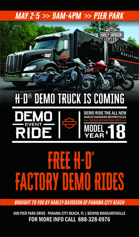 Calendar Events Harley Davidson Of Panama City Beach Florida