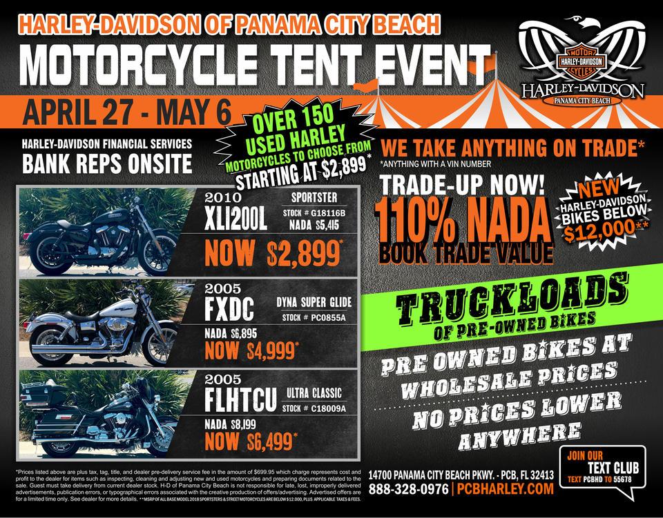 Event Calendar | Harley-Davidson® of Panama City Beach Florida